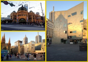 Flinder's Street Station and Federation Square