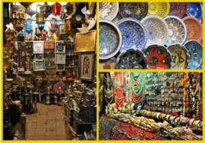 Items from the souk