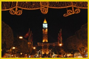 """Big Ben"" of Tunis"