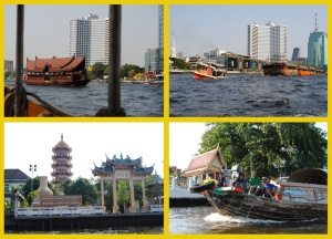 Sites on the Chayo Phraya  River