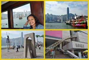 Star Ferry ride and views from Tsim Sha Tsui