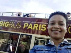 Random Paris Selfie