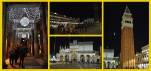 Piazza San Marco and Saint Mark's Basilica at the bottom
