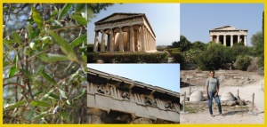 Olives and The Temple of Hephaestus