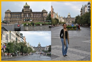 Muzeum and Wenceslas Square